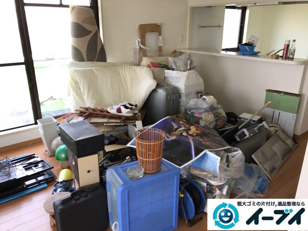 2017年6月18日大阪府吹田市で引っ越しゴミの処分の依頼で不用品回収をしました。写真3