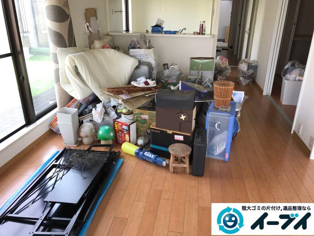 2017年6月18日大阪府吹田市で引っ越しゴミの処分の依頼で不用品回収をしました。写真2