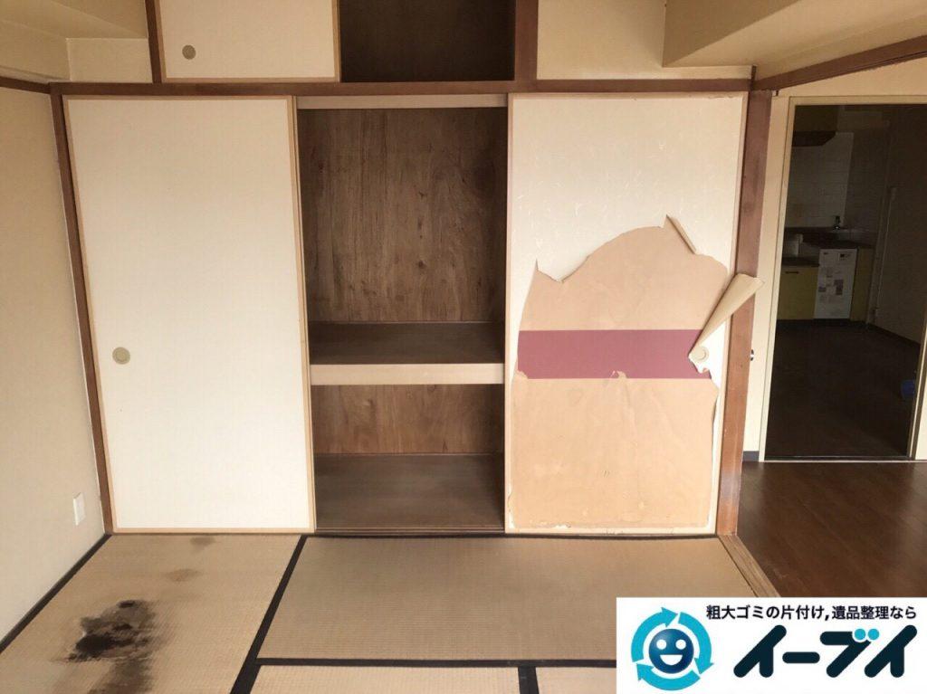 2017年7月2日大阪府守口市でソファーやベッドの不用品回収をしました。写真1
