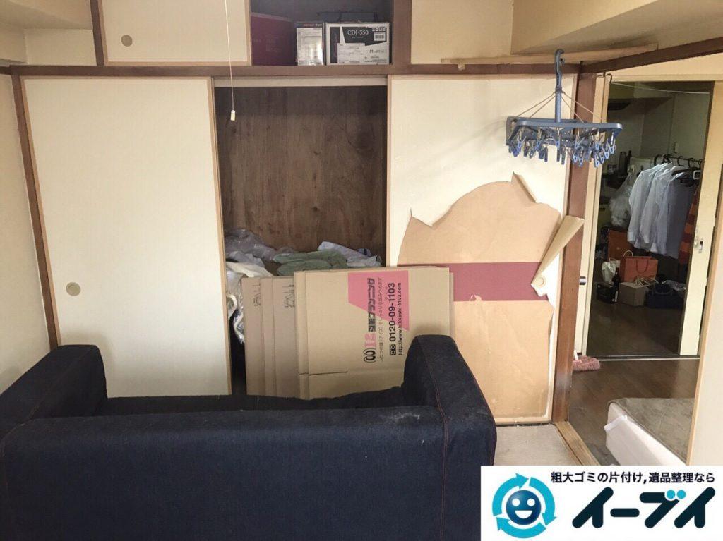 2017年7月2日大阪府守口市でソファーやベッドの不用品回収をしました。写真8