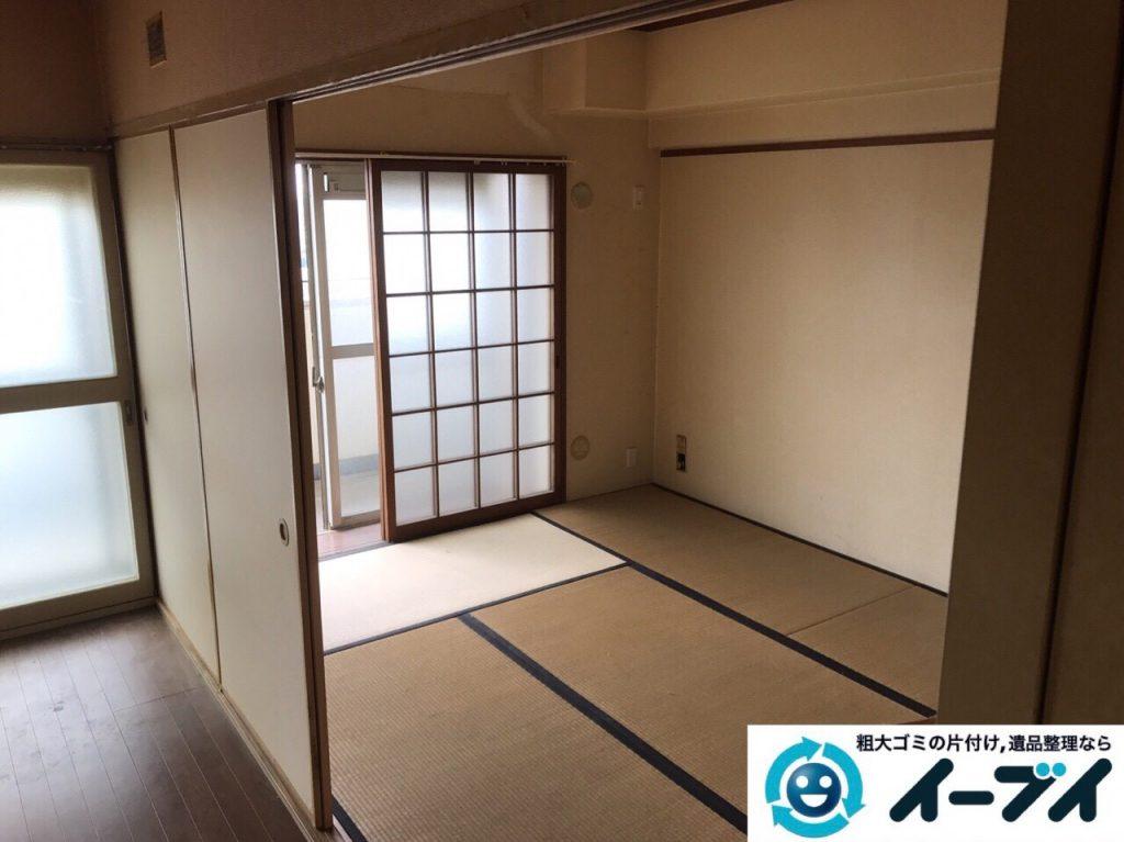 2017年7月2日大阪府守口市でソファーやベッドの不用品回収をしました。写真7