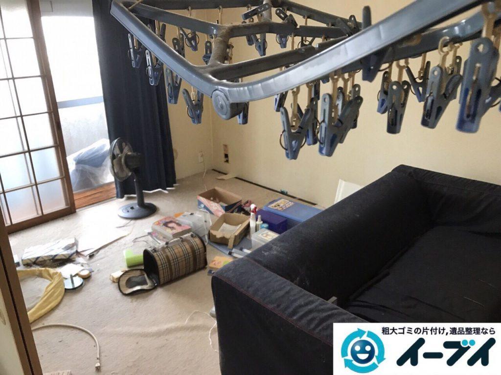 2017年7月2日大阪府守口市でソファーやベッドの不用品回収をしました。写真6