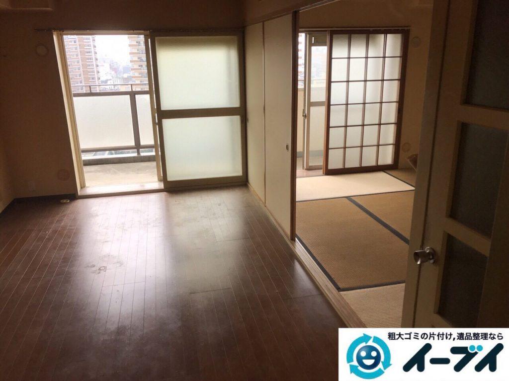 2017年7月2日大阪府守口市でソファーやベッドの不用品回収をしました。写真5