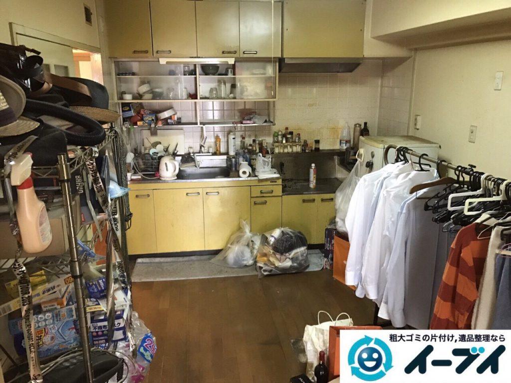 2017年6月24日大阪府大阪市城東区で遺品整理に伴う片付け処分をしました。写真7