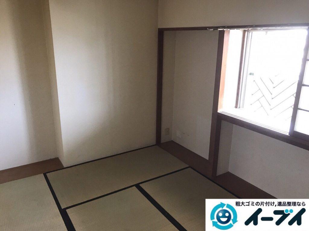 2017年7月6日大阪府大阪市中央区で遺品整理に伴い生活用品などの処分をしました。写真2
