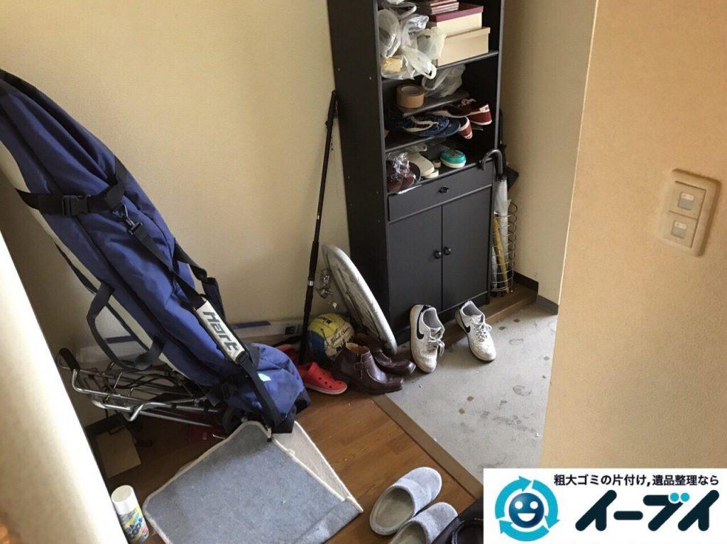 2017年7月2日大阪府守口市でソファーやベッドの不用品回収をしました。写真2