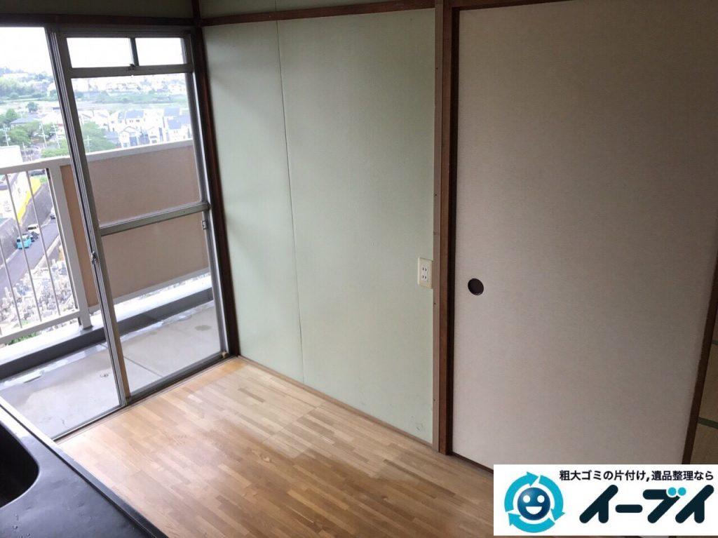 2017年7月4日大阪府大阪市西淀川区で遺品整理に伴い家具や生活用品の片付けをしました。写真8