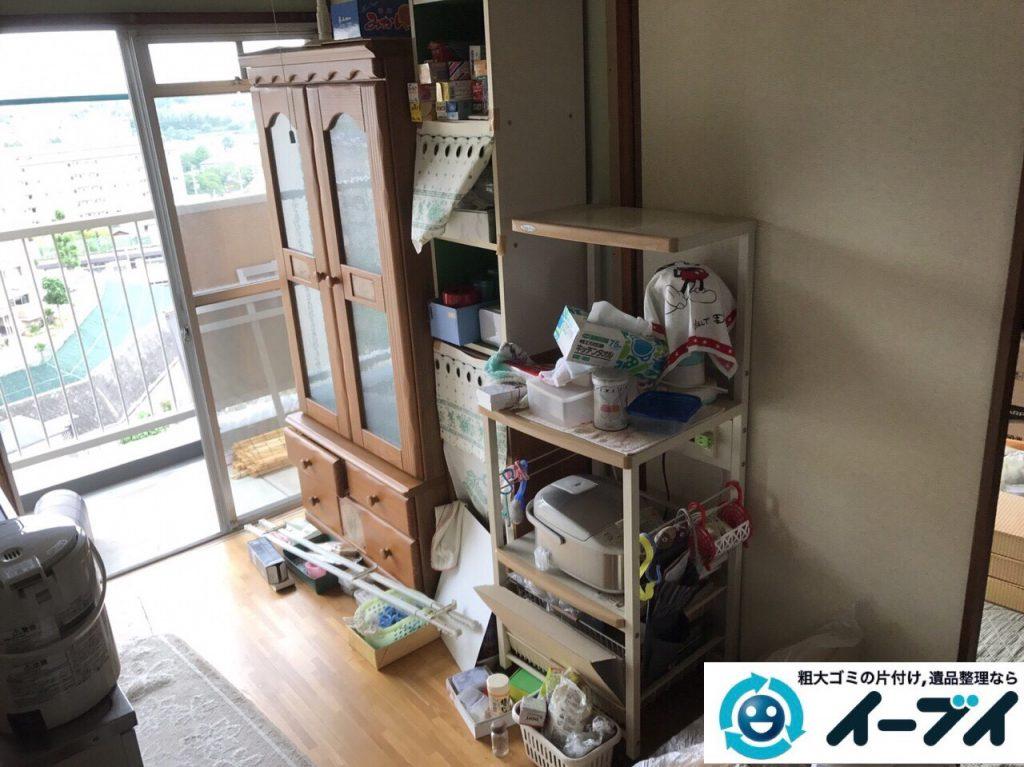 2017年7月4日大阪府大阪市西淀川区で遺品整理に伴い家具や生活用品の片付けをしました。写真7