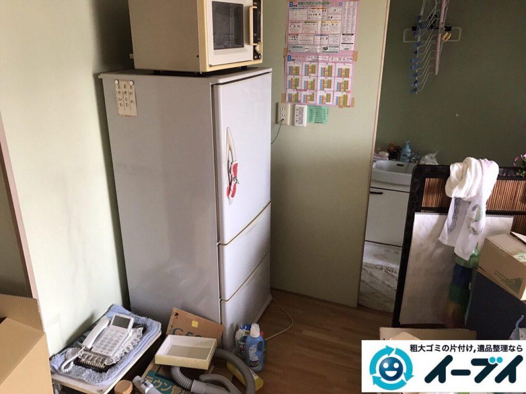 2017年7月4日大阪府大阪市西淀川区で遺品整理に伴い家具や生活用品の片付けをしました。写真3