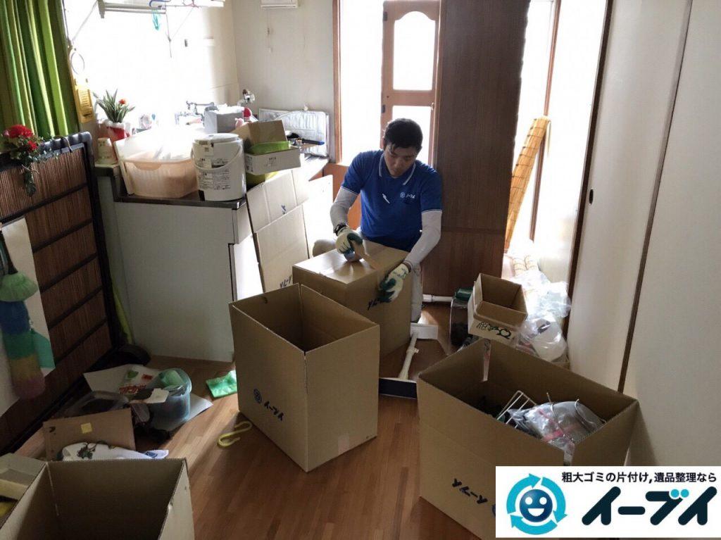 2017年7月4日大阪府大阪市西淀川区で遺品整理に伴い家具や生活用品の片付けをしました。写真2
