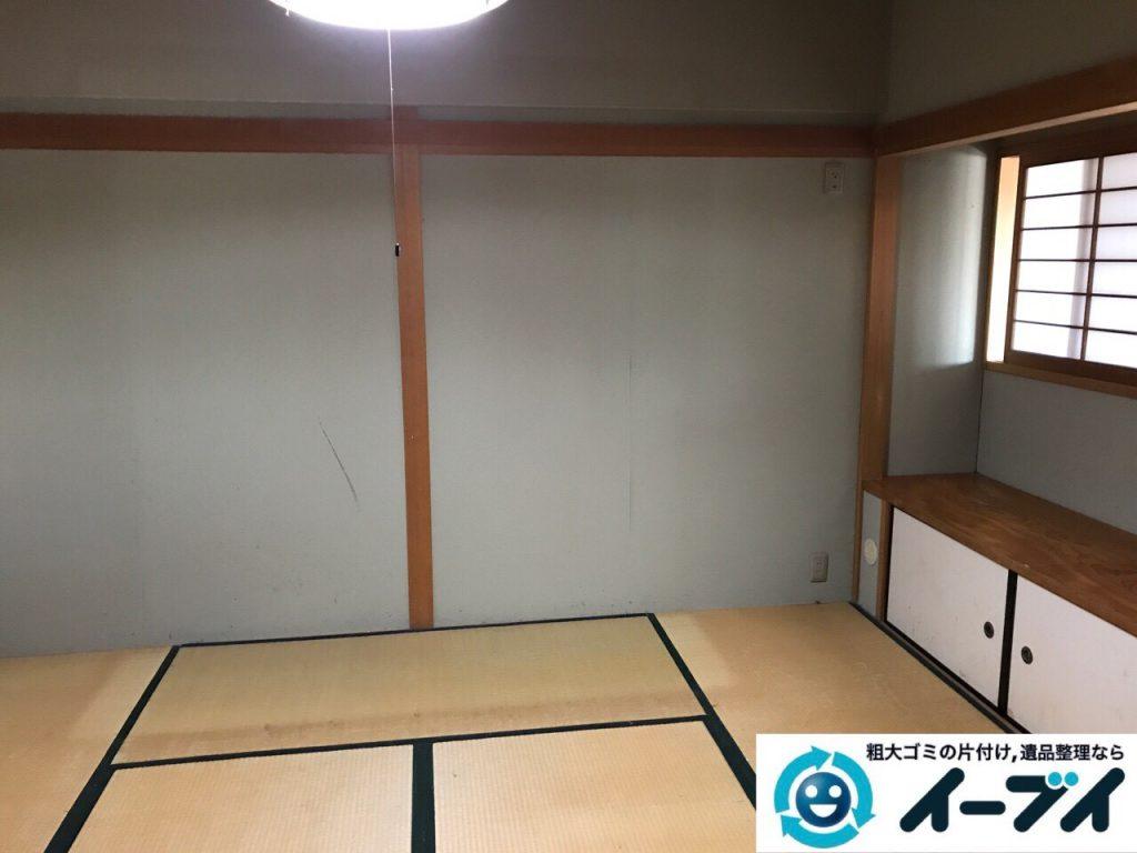 2017年6月20日大阪府大阪市阿倍野区で婚礼家具やベッドフレームの不用品回収をしました。写真1