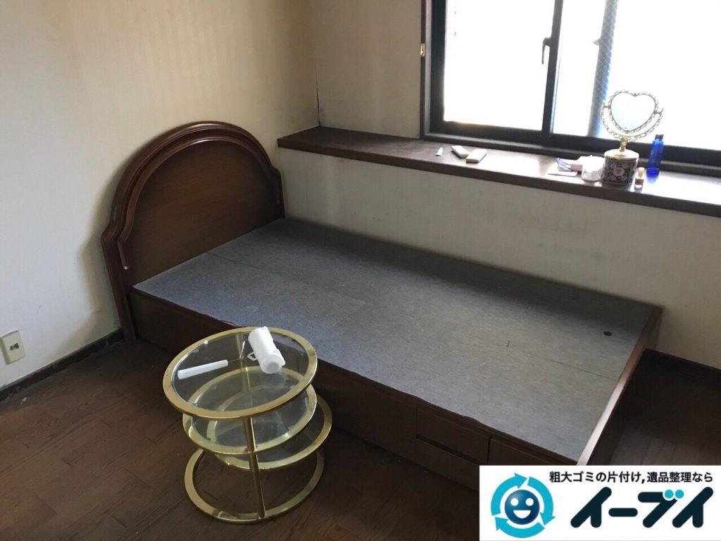 2017年6月20日大阪府大阪市阿倍野区で婚礼家具やベッドフレームの不用品回収をしました。写真2