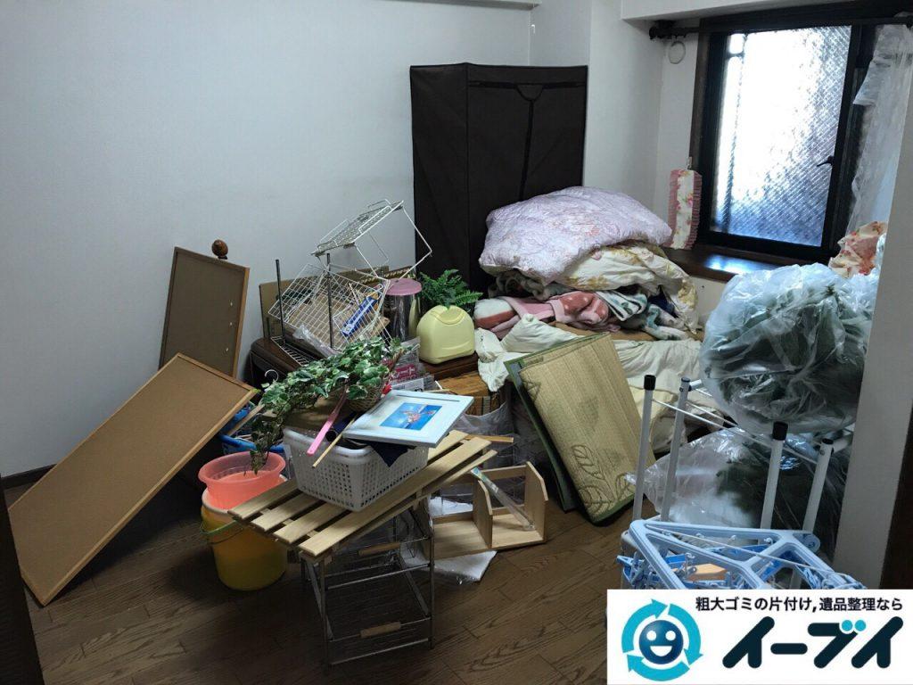 2017年6月28日大阪府堺市中区で片付けに伴う粗大ゴミや生活用品の不用品回収をしました。写真2