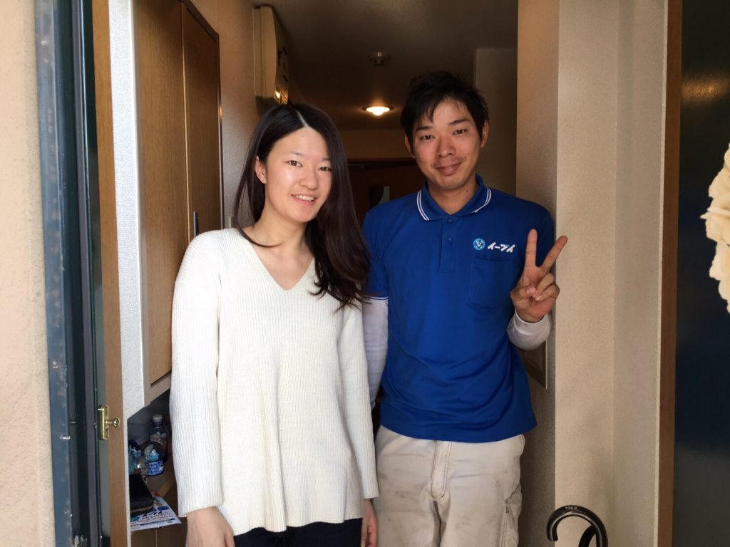 2017年6月3日大阪府大阪市住之江区で不要な家具の処分でイーブイを利用して頂きました。