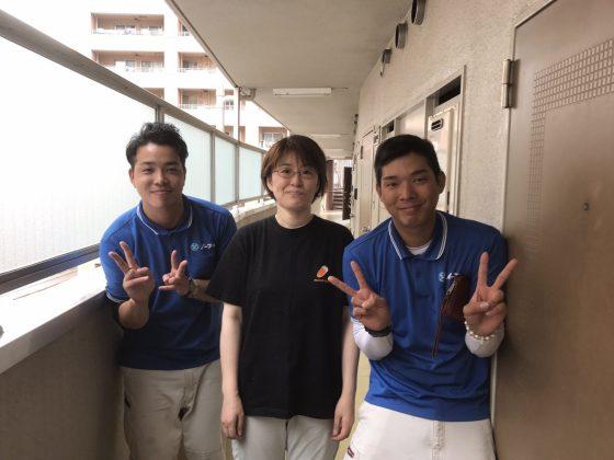 2017年7月5日大阪府大阪市福島区で引っ越しにあたって不要な家具などを処分するのに、イーブイを利用して頂きました。