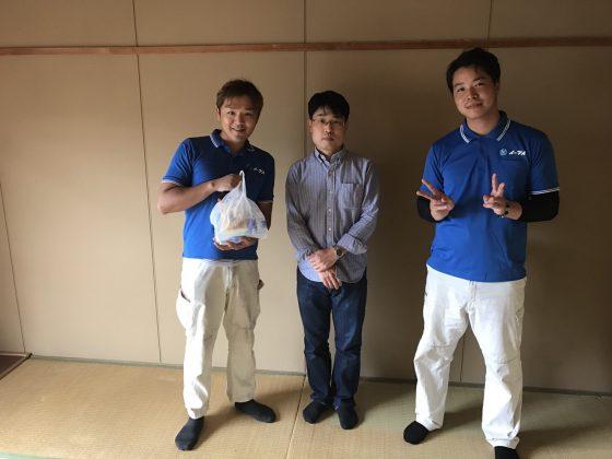 2017年6月25日大阪府寝屋川市で遺品整理の際に出た家財道具の処分でイーブイ利用して頂きました。