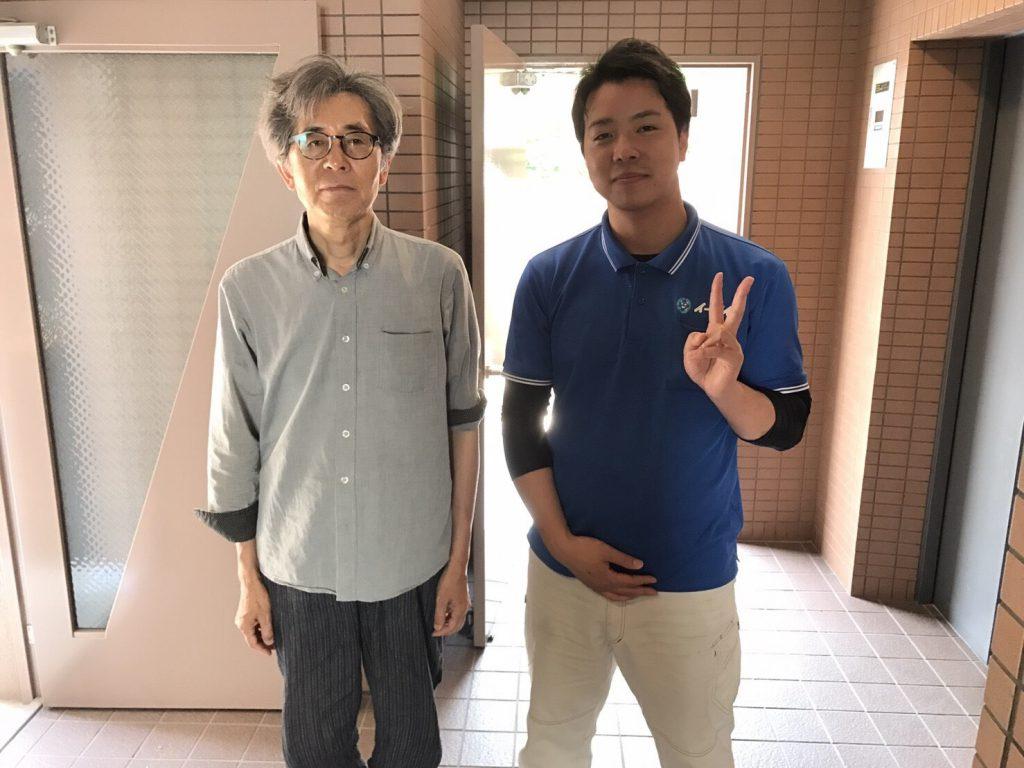 2017年6月19日大阪府大阪市天王寺区で不用な電化製品などを処分するのに、イーブイを利用して頂きました。