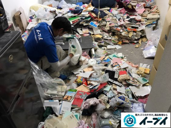 2017年7月26日大阪府大阪市中央区でゴミ屋敷の片付けをしました。写真4