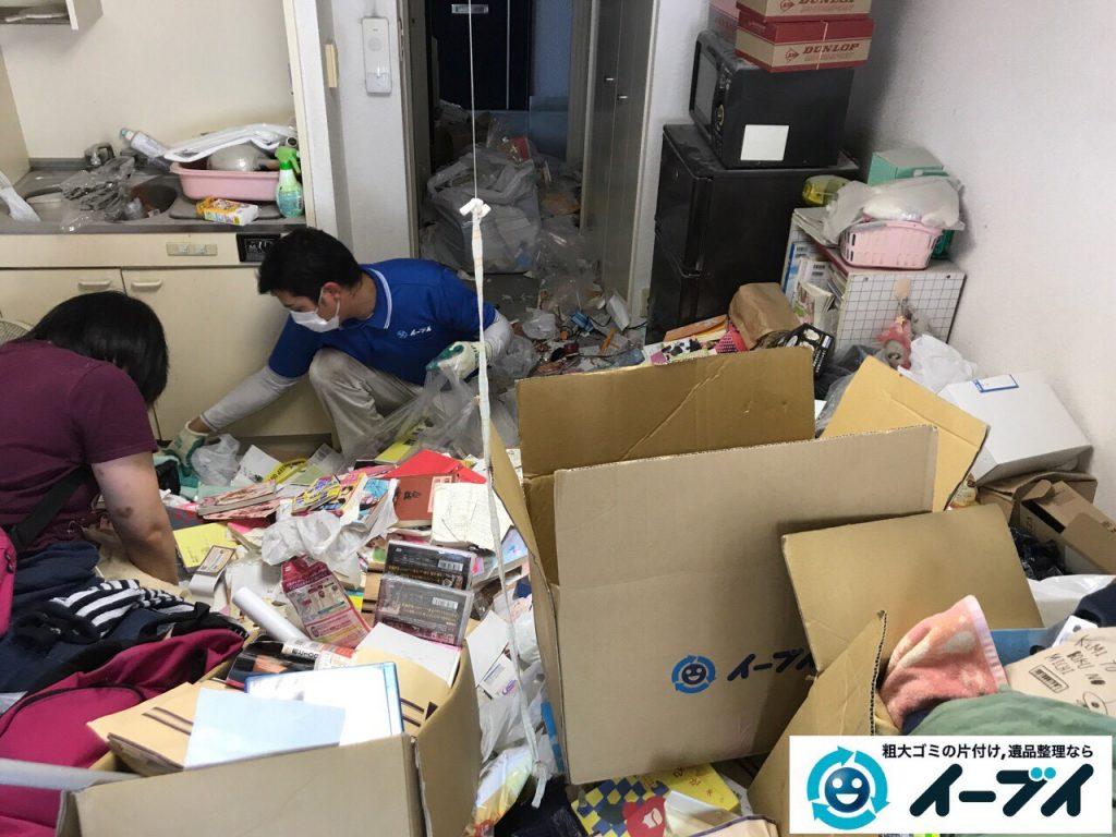 2017年7月26日大阪府大阪市中央区でゴミ屋敷の片付けをしました。写真2