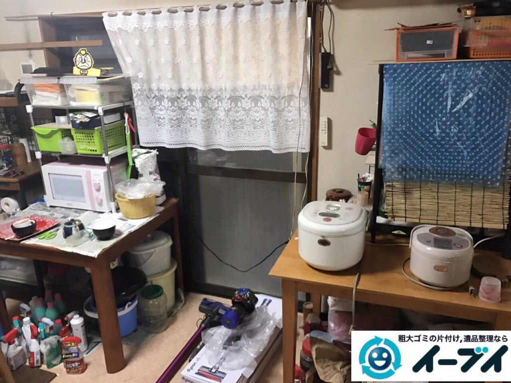 2017年7月10日大阪府大阪市都島区で遺品整理に伴い片付け処分と整理を行いました。写真6
