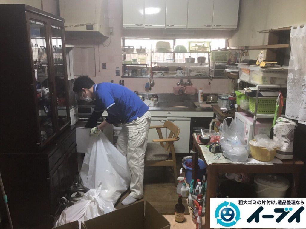 2017年7月10日大阪府大阪市都島区で遺品整理に伴い片付け処分と整理を行いました。写真4