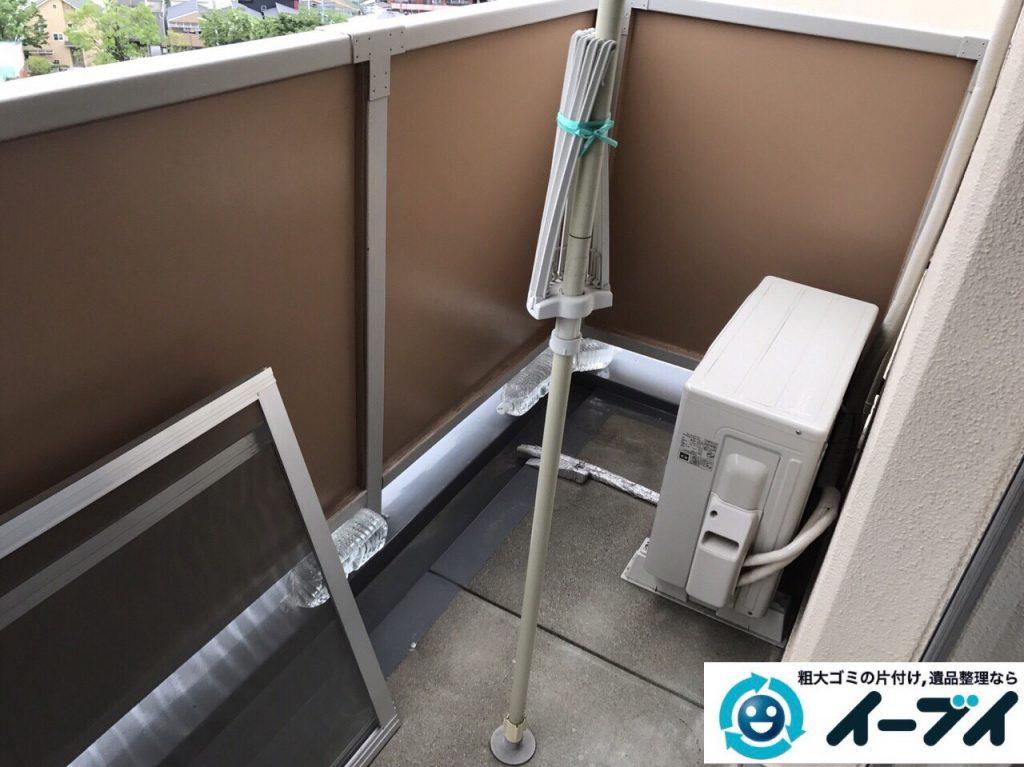2017年7月16日大阪府大阪市東淀川区で遺品整理の依頼を受け家具や粗大ゴミの処分をしました。写真5