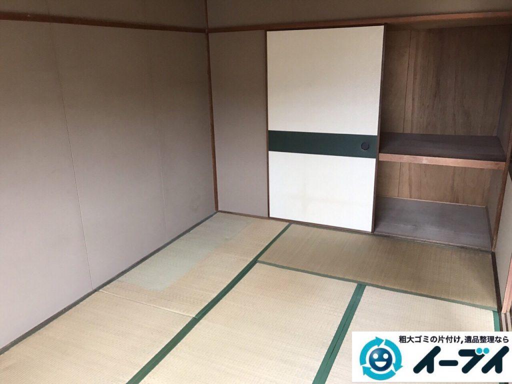 2017年7月16日大阪府大阪市東淀川区で遺品整理の依頼を受け家具や粗大ゴミの処分をしました。写真4