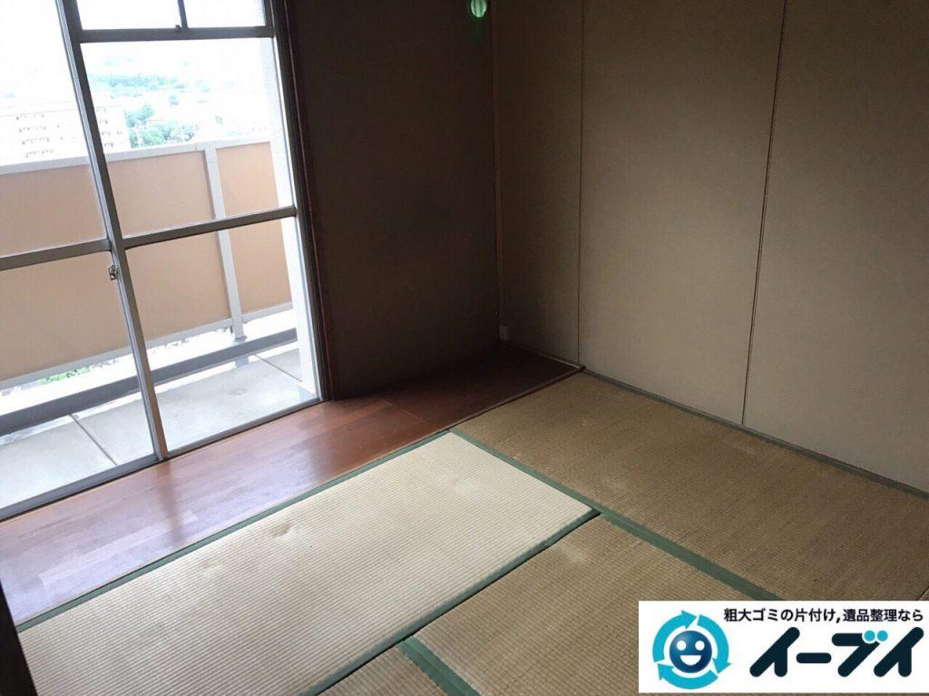 2017年7月8日大阪府大阪市此花区で遺品整理に伴い家具や粗大ゴミの処分をしました。写真7
