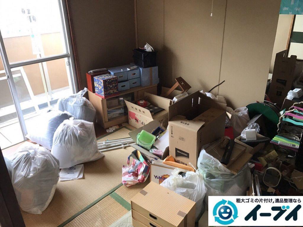 2017年7月8日大阪府大阪市此花区で遺品整理に伴い家具や粗大ゴミの処分をしました。写真6