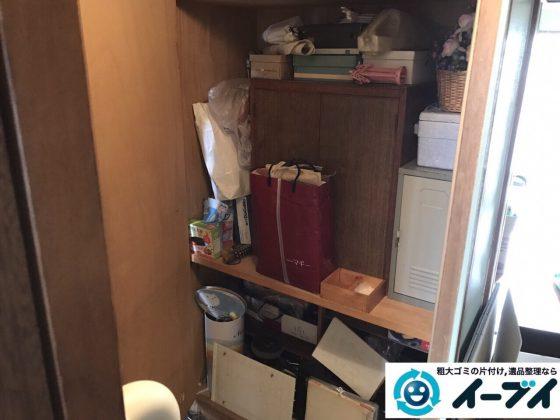 2017年7月18日大阪府大阪市平野区で遺品整理に伴う家財の処分をしました。写真5