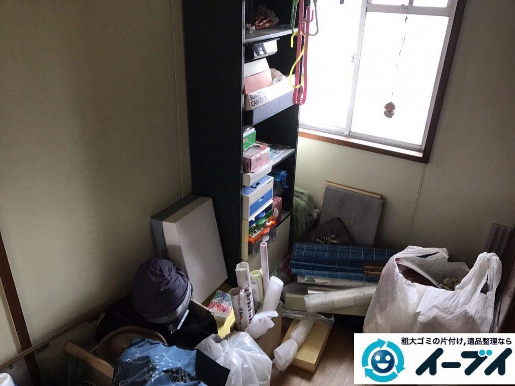 2017年7月18日大阪府大阪市平野区で遺品整理に伴う家財の処分をしました。写真1