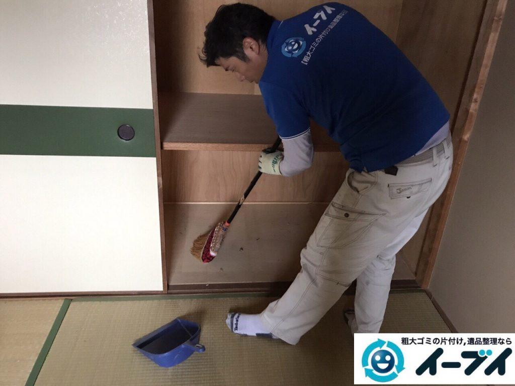 2017年7月16日大阪府大阪市東淀川区で遺品整理の依頼を受け家具や粗大ゴミの処分をしました。写真2