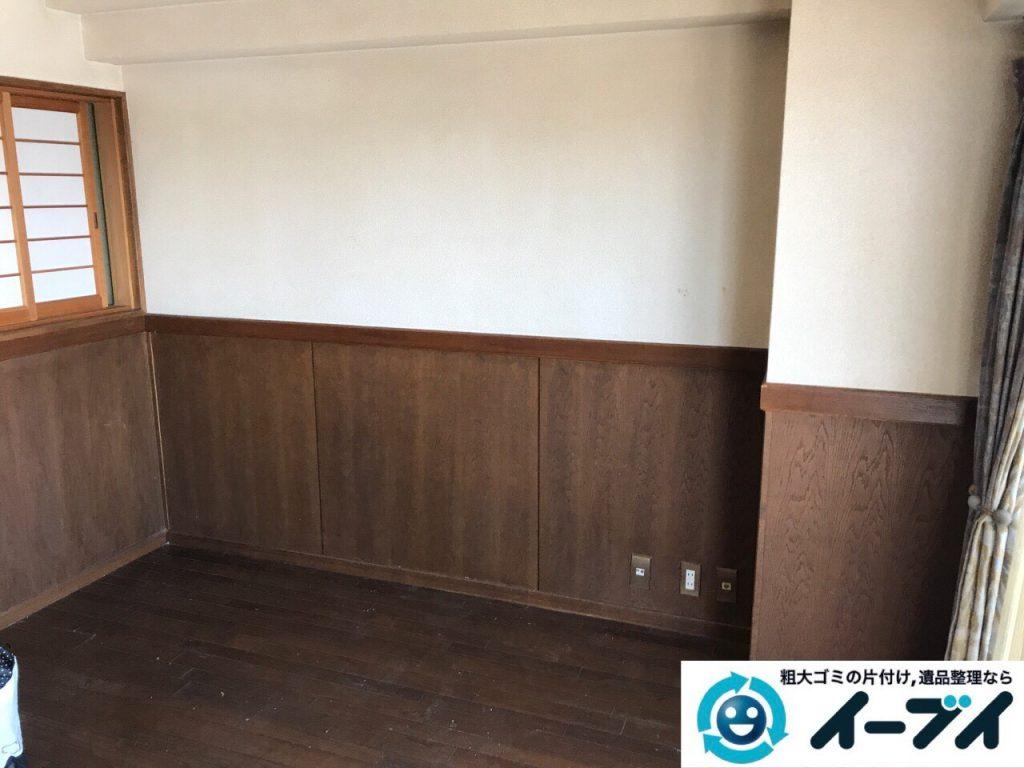 2017年7月20日大阪府大阪市北区でダイニングテーブルのセットや粗大ゴミを不用品回収しました。写真4