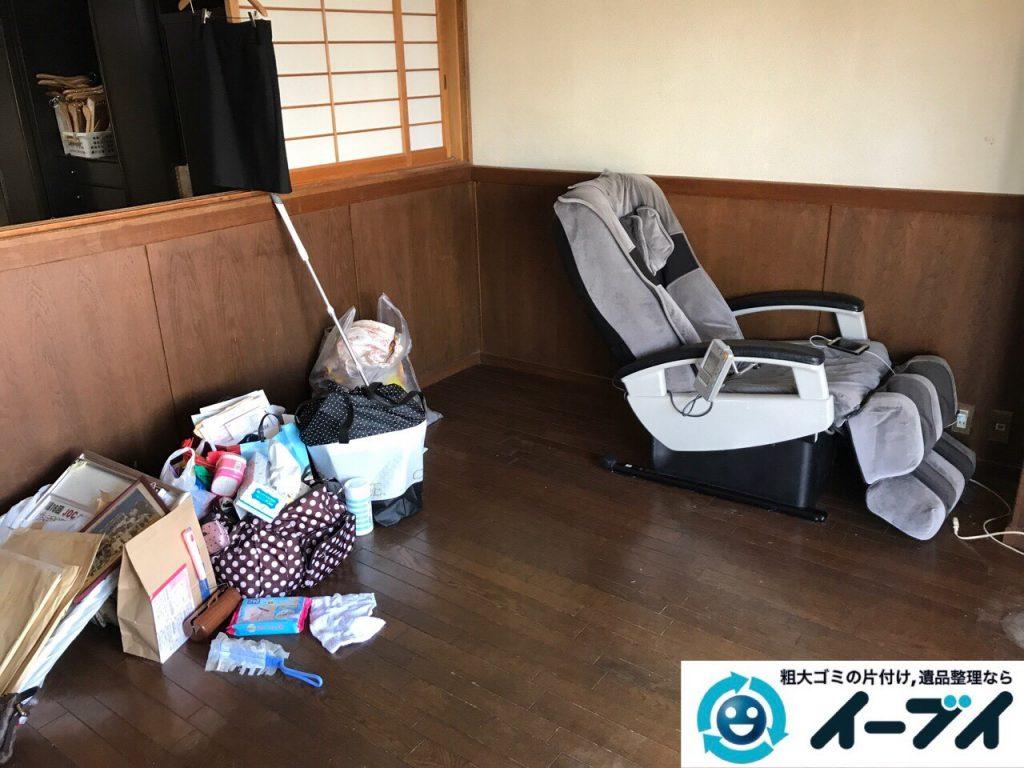 2017年7月20日大阪府大阪市北区でダイニングテーブルのセットや粗大ゴミを不用品回収しました。写真3