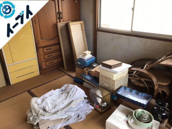 2017年7月24日大阪府高槻市で遺品整理に伴う片付け作業をしました。写真1