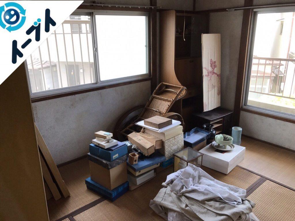 2017年7月24日大阪府高槻市で遺品整理に伴う片付け作業をしました。写真7