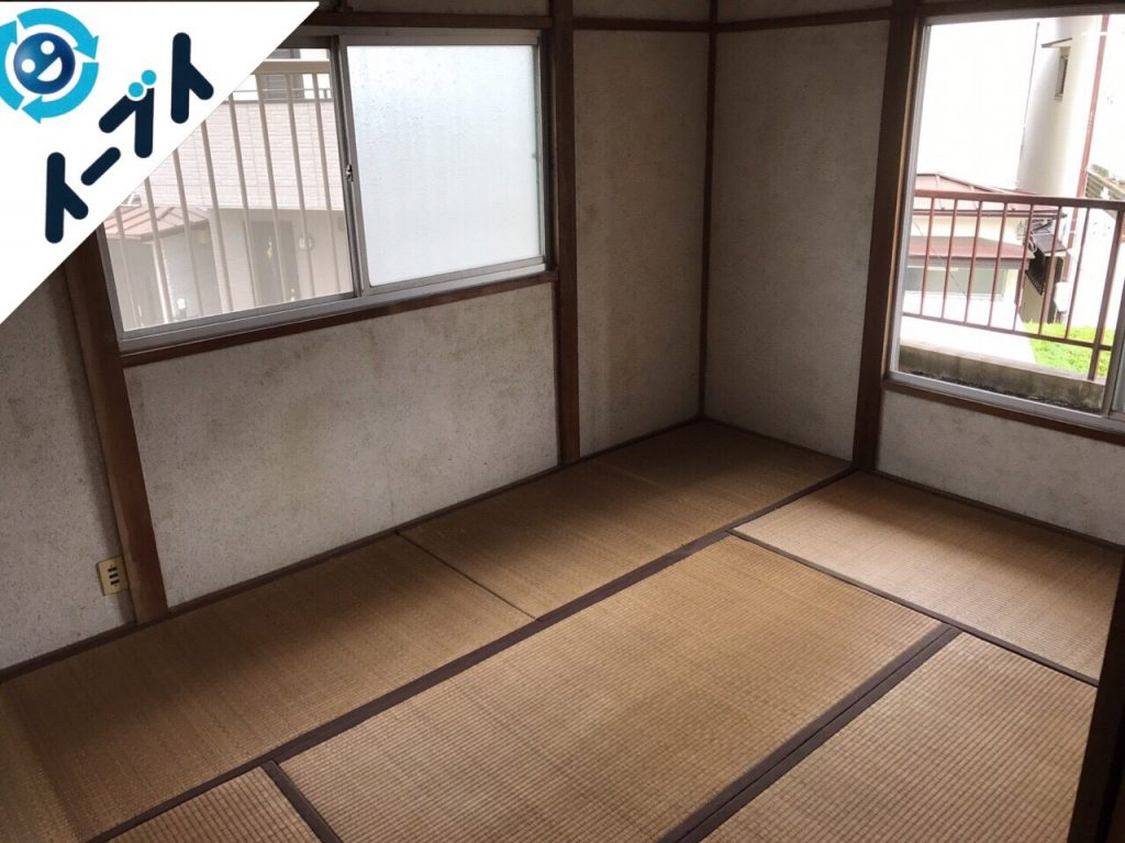 2017年7月24日大阪府高槻市で遺品整理に伴う片付け作業をしました。写真6