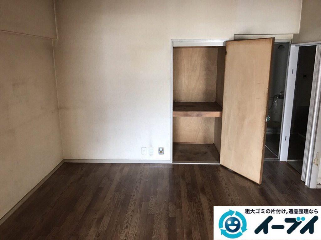 2017年8月2日大阪府寝屋川市で遺品整理の作業で食器や大型家具の処分をしました。写真2