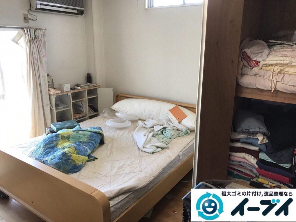 2017年7月27日大阪府四条畷市で遺品整理の相談を受け片付け処分の作業をしてきました。写真2