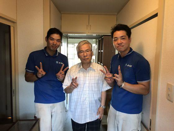 2017年7月23日大阪府大阪市住吉区で引っ越しにあたっての不用品の処分でイーブイを利用して頂きました。