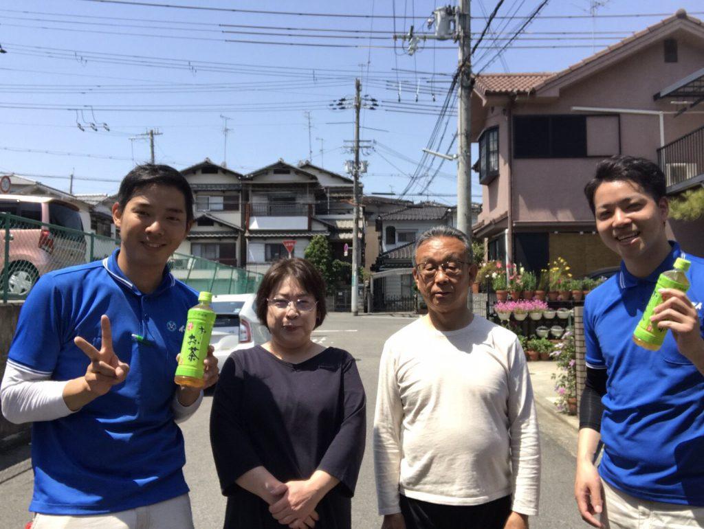 2017年7月19日大阪府堺市で家財道具の処分でイーブイを利用して頂きました。