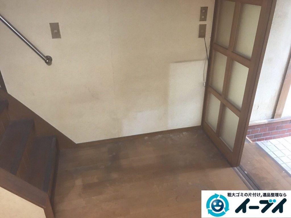 2017年8月17日大阪府八尾市で遺品整理の依頼を受け遺品処分や家具処分をしました。写真6