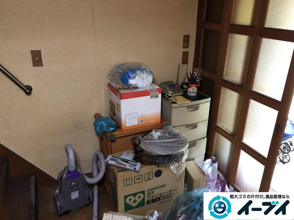 2017年8月17日大阪府八尾市で遺品整理の依頼を受け遺品処分や家具処分をしました。写真5