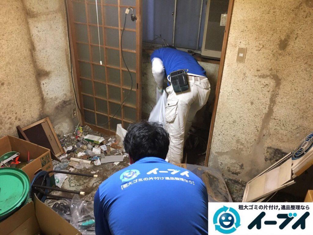2017年8月5日大阪府池田市でゴミ屋敷の片付けや処分をしました。写真11