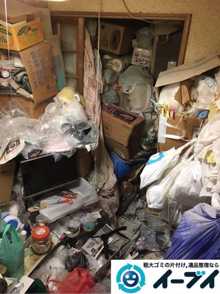 2017年8月5日大阪府池田市でゴミ屋敷の片付けや処分をしました。写真10