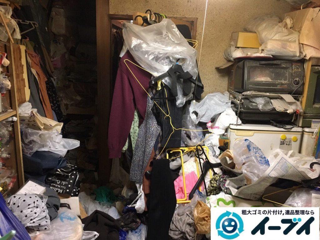 2017年8月5日大阪府池田市でゴミ屋敷の片付けや処分をしました。写真9