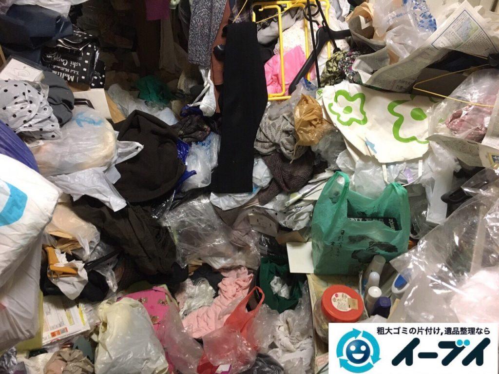 2017年8月5日大阪府池田市でゴミ屋敷の片付けや処分をしました。写真8
