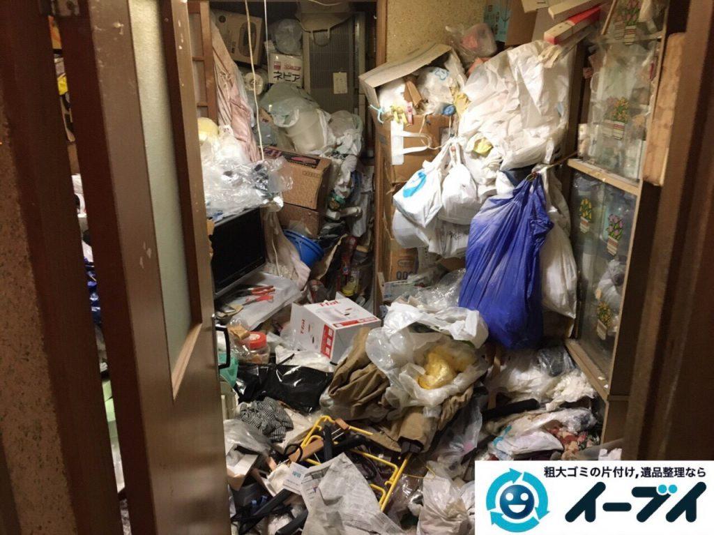 2017年8月5日大阪府池田市でゴミ屋敷の片付けや処分をしました。写真7