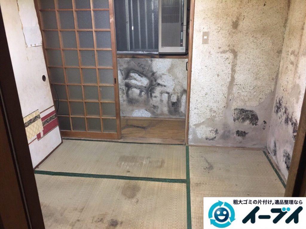 2017年8月5日大阪府池田市でゴミ屋敷の片付けや処分をしました。写真6