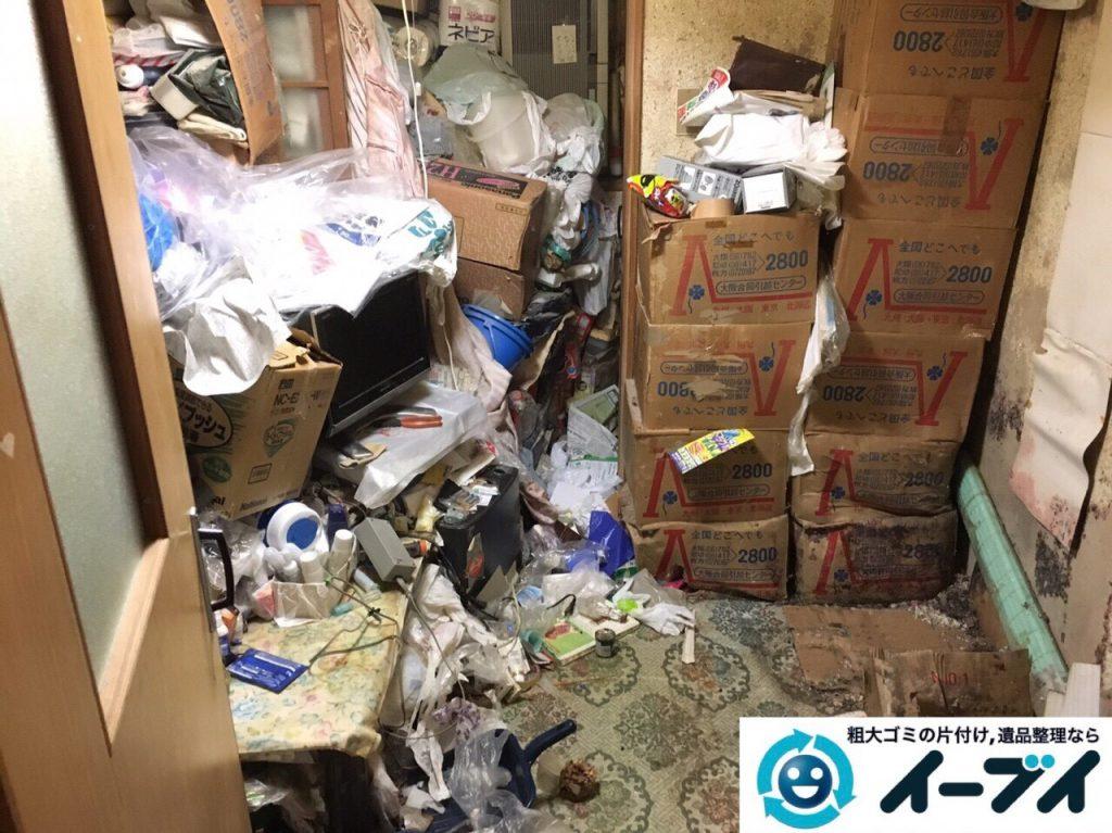 2017年8月5日大阪府池田市でゴミ屋敷の片付けや処分をしました。写真5